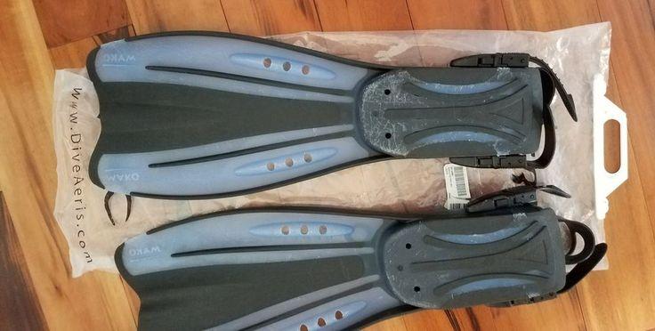 Aeris Ocean Blue Pro Diving Snorkeling Fins Pre-Owned | Sporting Goods, Water Sports, Fins, Footwear & Gloves | eBay!