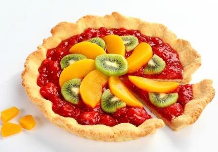 Wiosenna tarta z owocami. Kliknij w zdjęcie, aby poznać przepis. #ciasta #ciasto #desery #wypieki #cakes #cake #pastries