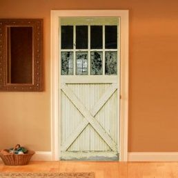 Country door painted onto flat door : counrty door - Pezcame.Com