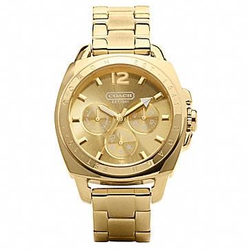 The Jewelry Shop: Coach Boyfriend Bracelet Watch