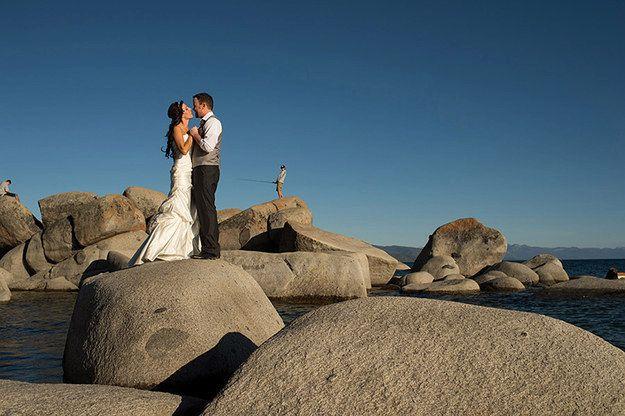 Vtipné svatební momentky
