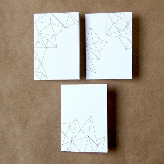 Geometric Pattern Card Set