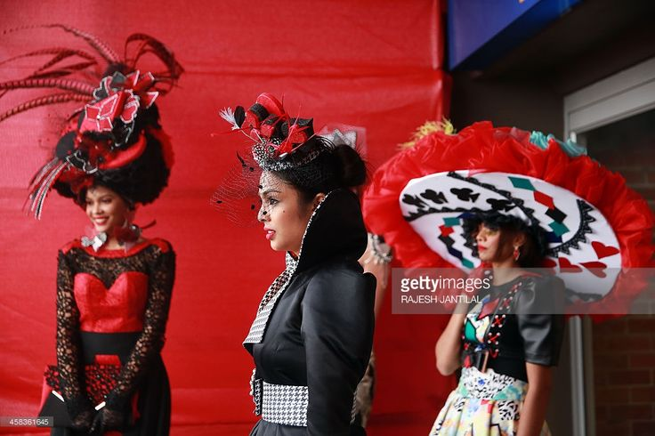 Fashion & incredible South Africans. Seen at Vodacom Durban July 2016.