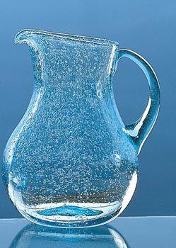Pichet verre bulle, Verrerie de Biot | souvenirs souvenirs ...