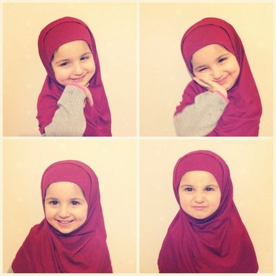 Subhan allah this lil girl is so cuteee