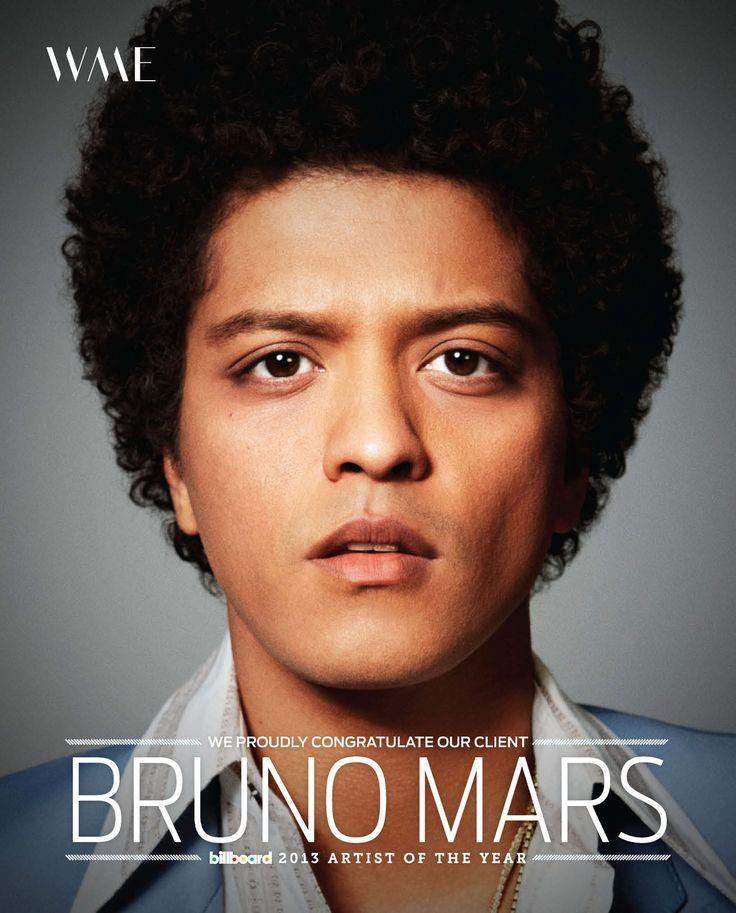 bruno mars mars and billboard magazine on pinterest