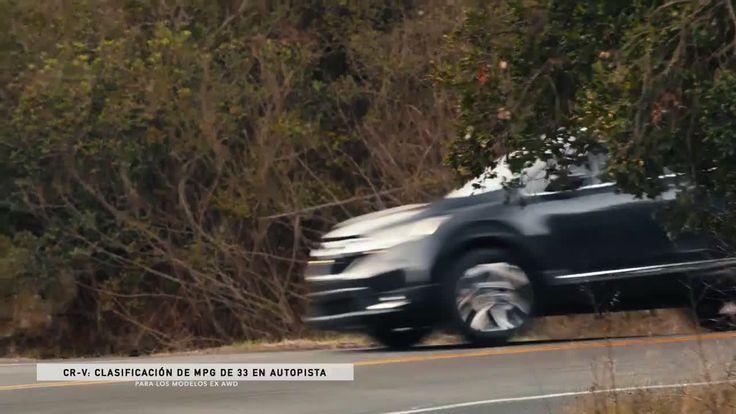 AbanCommercials: Honda TV Commercial  • Honda advertsiment  • CR-V Inspiration: Competitive Advantages (Spanish)  • Honda CR-V Inspiration: Competitive Advantages (Spanish)  TV commercial • Performance que inspira, un interior rediseñado y un rendimiento de combustible excepcional [1]. Todo esto es lo que encuentras en la totalmente nueva CR-V. Compárala con la competencia.[1] Clasificación de millas por galón (mpg) de 27 en ciudad/33 en autopista/29 combinado para los modelos AWD ...