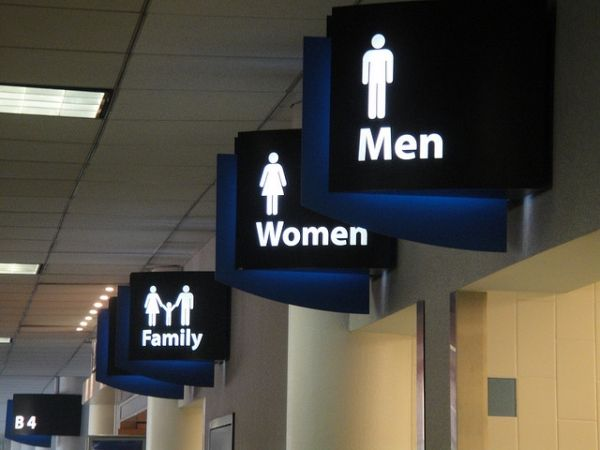 Bathroom Signs California best 25+ transgender bathroom sign ideas on pinterest | trans