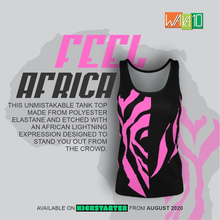 An AfricanThemed Sports & Urban Apparel label launches