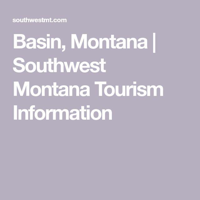 Basin, Montana | Southwest Montana Tourism Information
