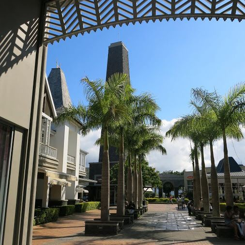 Bagatelle shopping mall #Mauritius. A convenient stop at Moka off the motorway…