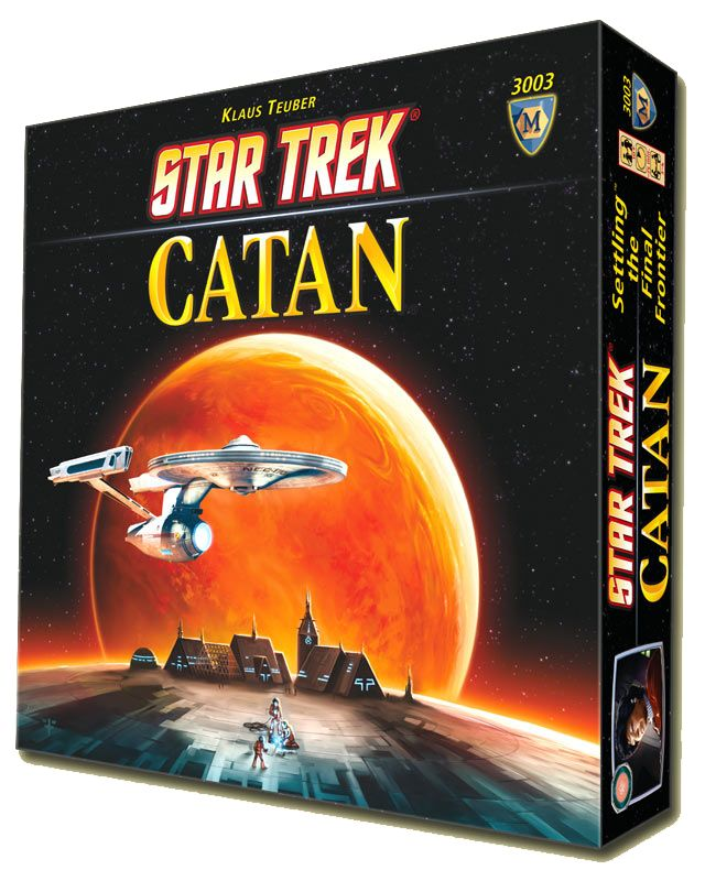 Star Trek English-language Star Trek: Catan Game Out This Fall  I would love this for Christmas hint hint!