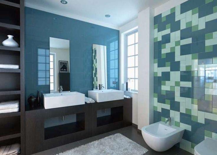 Oltre 1000 idee su Piastrelle Per Bagno Blu su Pinterest  Bagni blu, Conversioni loft e ...