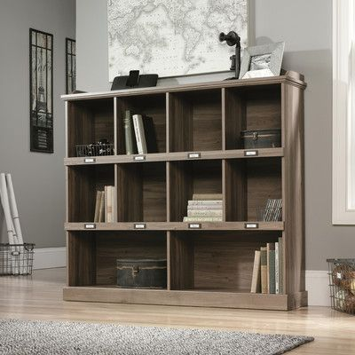 Features: -Paper board backing the same color as the rest of the bookcase. -Removable labels. Product Type: -Cube unit. Finish: - Available in Scribed Oak or Salt Oak finish. Frame Material: -Man