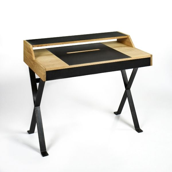 Stanley Schreibtisch Schreibtisch Eiche Massiv Schreibtisch