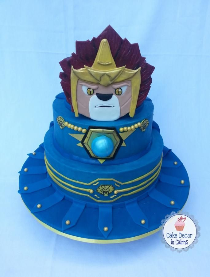 Lego Chima Laval inspired Cake - Cake by Cake Decor in Cairns