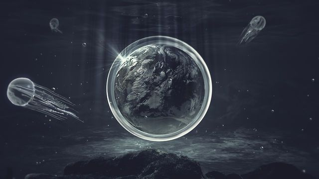 Stunning.     THEORY. Genesis creation narrative  Hidetsugu Murakami Original animation.    This video descirbes the creation of Earth in 7 days by use of motion graphics. It is Based on the book of Genesis.      Lightwave3D v10  After Effects CS5  ACID pro    AMP http://amplifier.co.jp/  Murakami Design Office:http://www.murakamidesign.jp/    http://www.facebook.com/hidetsugu