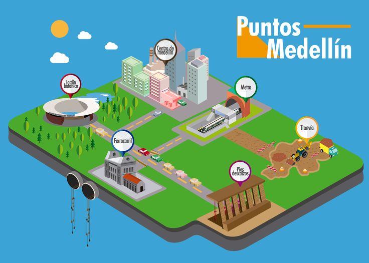 Medellín puntos