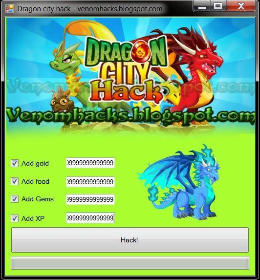 Hack no dragon city do facebook hacking