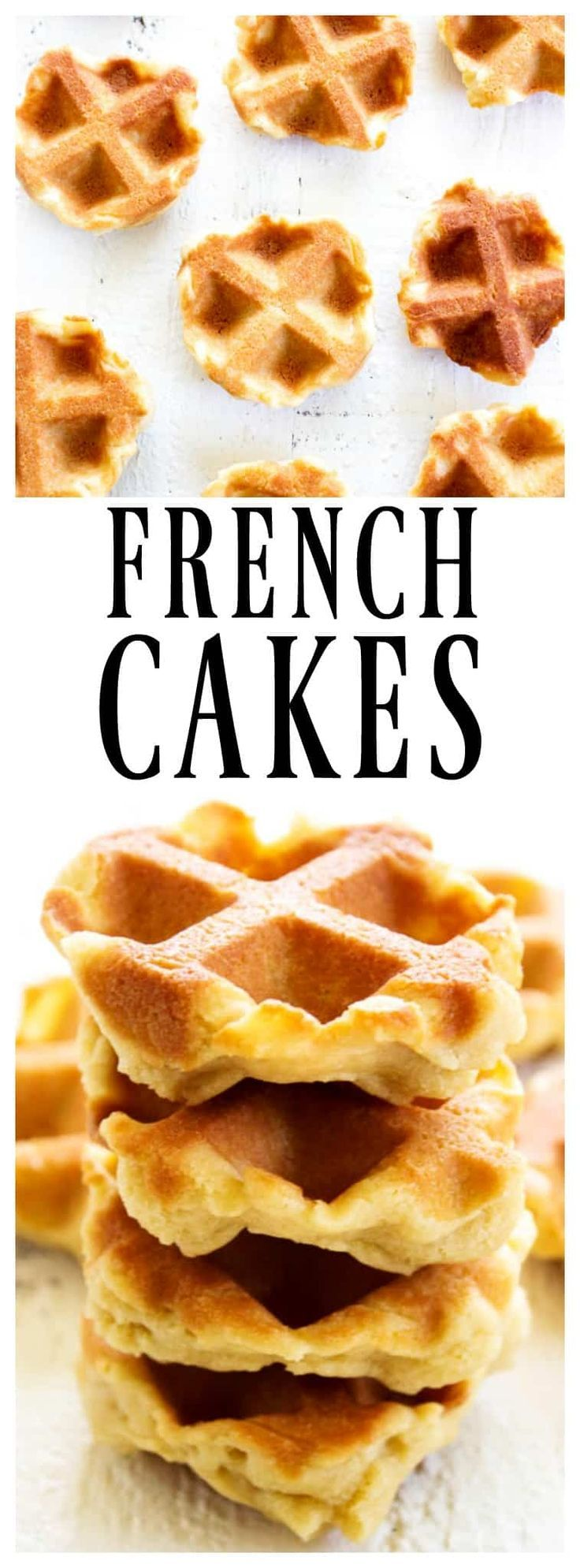 A Christmas tradition in our home, these FRENCH CAKES aka WAFFLE COOKIES are so easy and delicious. Made in the waffle iron and devoured by the dozen.