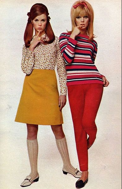 fairly representative of teen look circa 1967-68