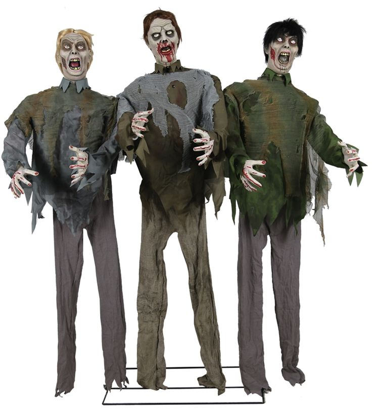 life sized zombie horde animated prop 352918 - Halloween Props For Sale