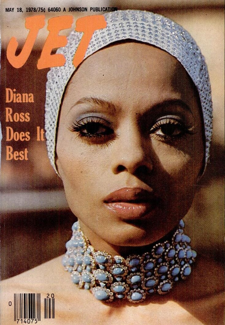 dianaross: Diana on the cover of Jet Magazine, 1978