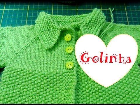 Diário de algodão : Como colocar golinha de tricô em casaquinho de bebê