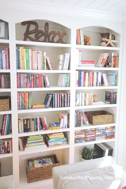 pinterest painted bookshelves likewise - photo #25