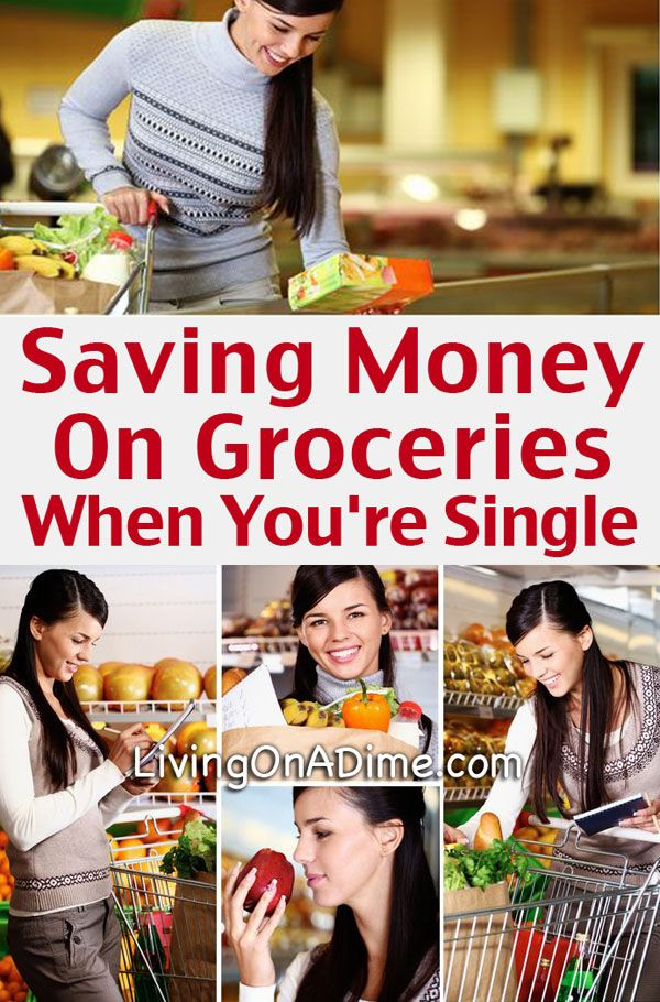 Saving Money On Groceries When You're Single