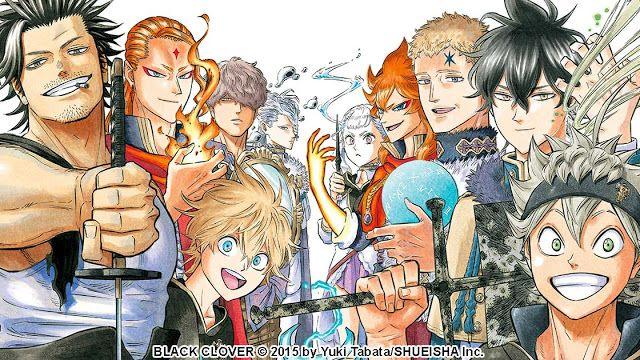 Black Clover Filler List In 2021 Black Clover Anime Black Clover Manga Anime