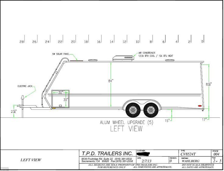 FS: 2013 TPD Vortech enclosed car trailer 24' - Rennlist Discussion Forums