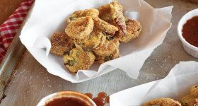 Cornmeal-Crusted Fried Pickles