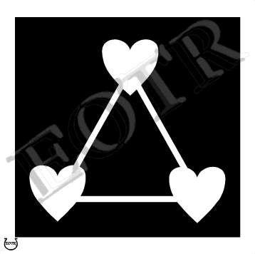 cinta segitiga
