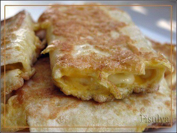 NapadyNavody.sk | Tortila so syrom vo vajíčku. Rýchle raňajky za 5 minút.