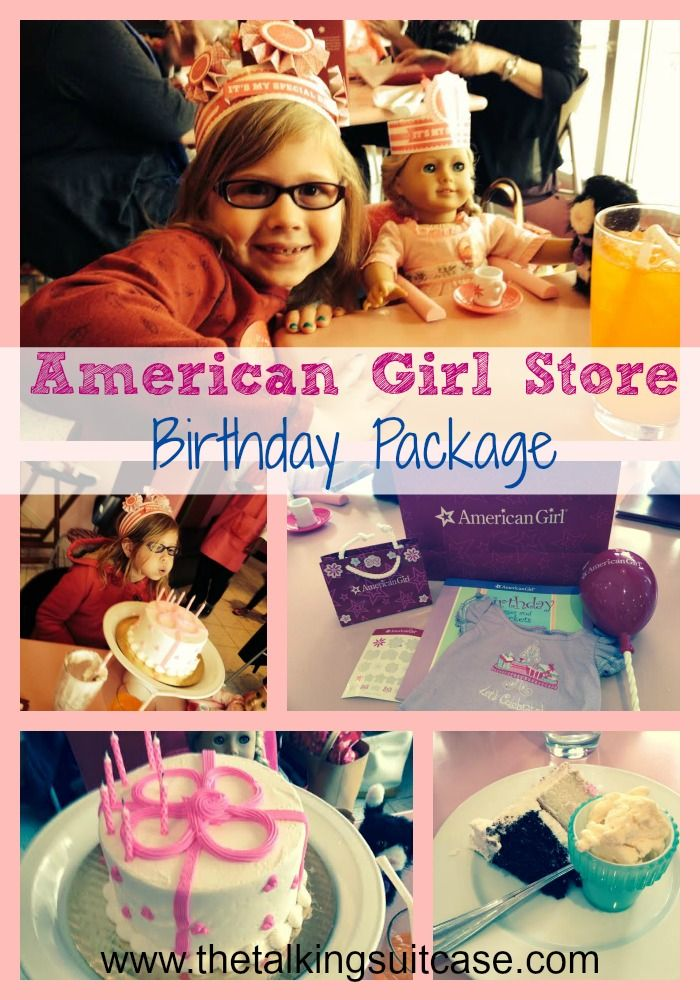 We spent LuLu's birthday at the American Girl Store in Washington, DC.  See what is included in the birthday package at the Bistro.