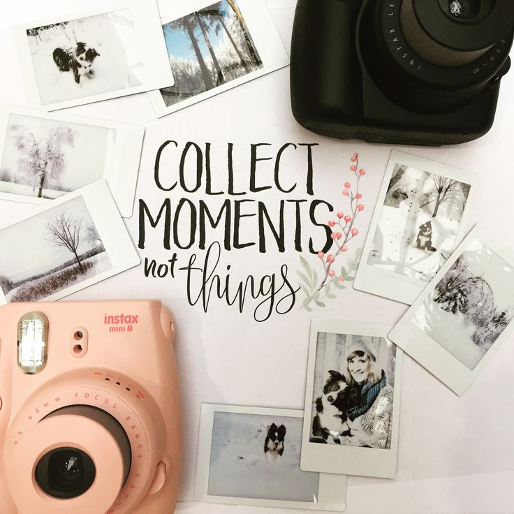 Collect moments with your instax mini 8