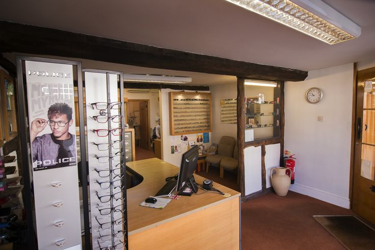 Walford and Round opticians in Stratford Upon Avon, where you can find a wide selection of the latest designer frames