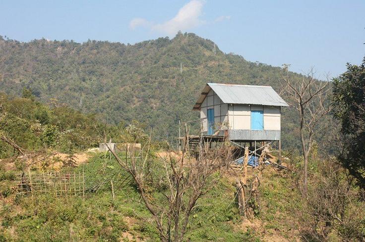 Tiny house from Mizoram, India.
