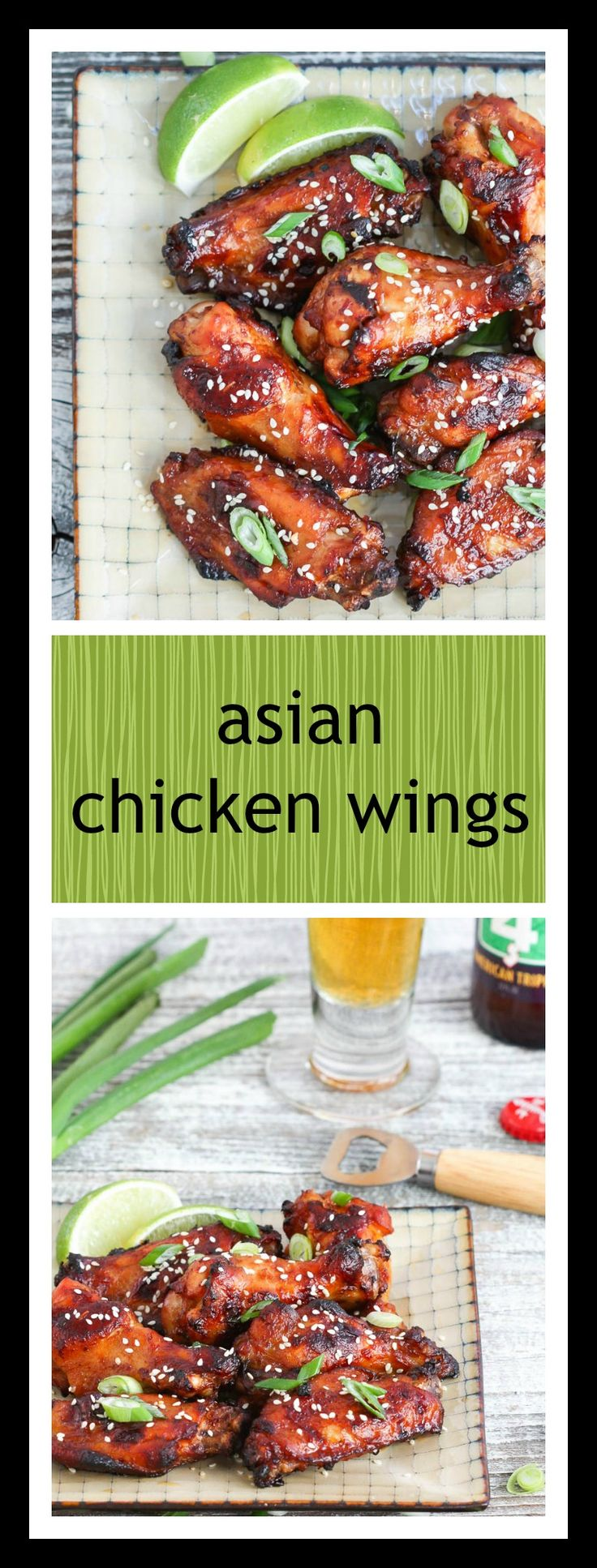 STICKY, SWEET, SPICY AND CRISPY ASIAN CHICKEN WINGS ARE PERFECT PARTY FARE!