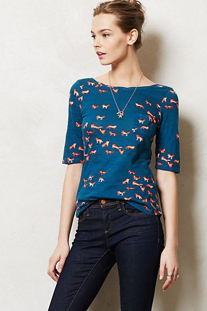 Creature Feature Top @Lorraine Matuschak (too bad I can't get you clothes for Christmas... ;) )