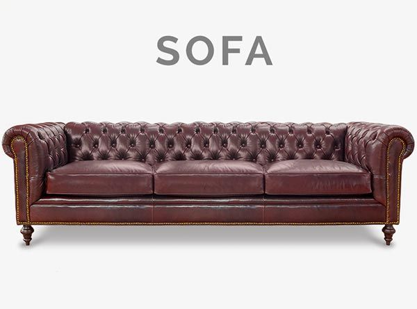 The Fitzgerald Custom Classic Chesterfield Sofas More Vintage Leather Sofa Sofa Chesterfield Sofa