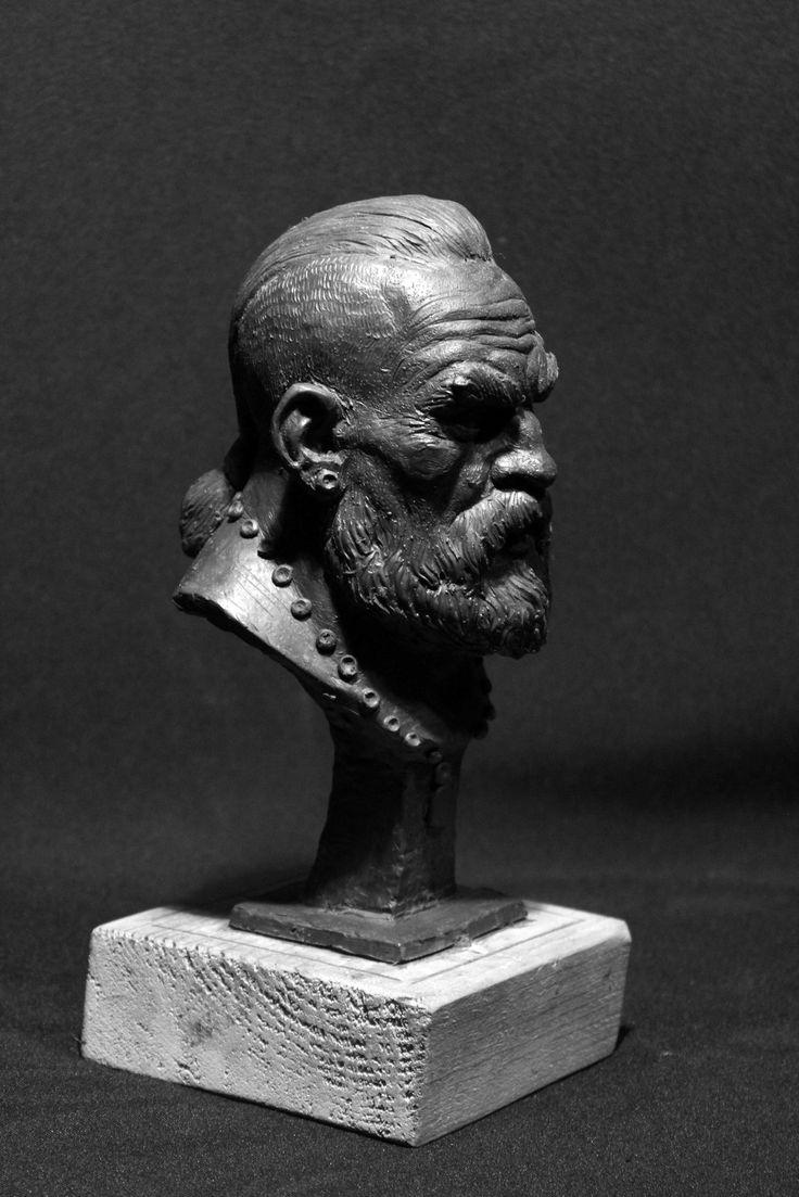 Head of the Warrior, Narek Samvelyan on ArtStation at https://www.artstation.com/artwork/head-of-the-warrior