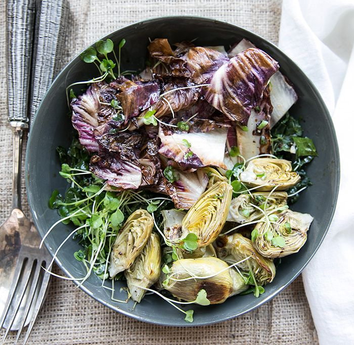 Roasted Cauliflower And Fennel Salad With Endive And Radicchio Recipe ...