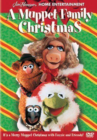 A Muppet Family Christmas (1998) DVD - Movie Night DVD