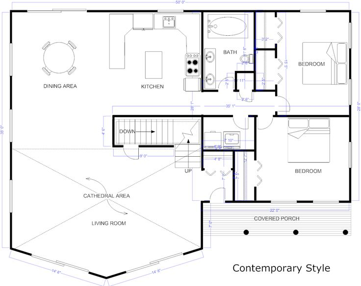 house blueprint software - Home Design Blueprint