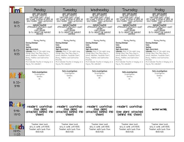 Teachers Weekly Planner Template Diy Teacher Planner Binder Ms