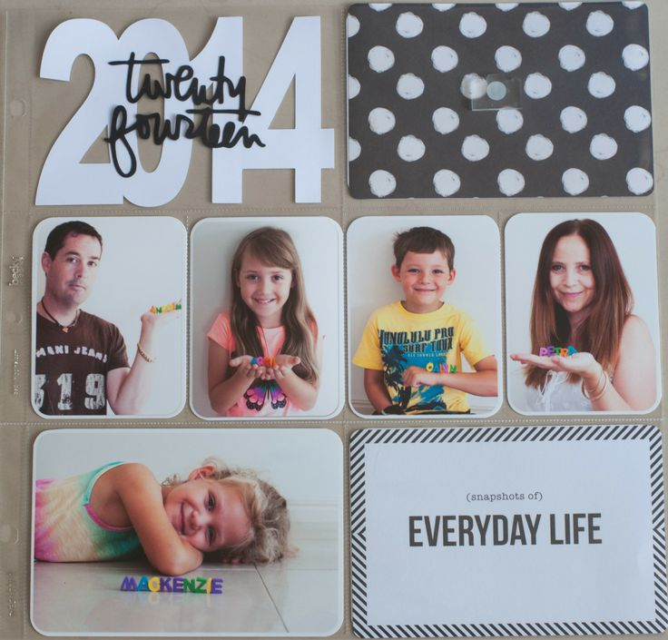 Project Life 2014 Cover Page