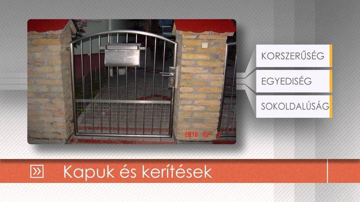 Kapuk és kerítések   http://rozsdamenteskorlat.eu/