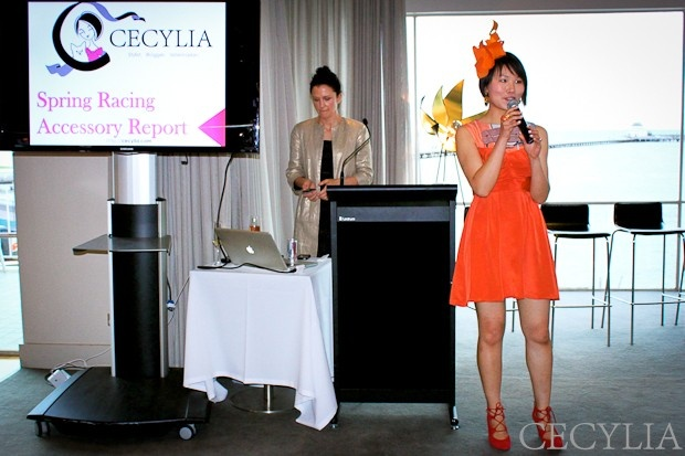 Cecylia sharing her top styling tips